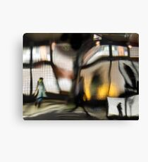 Subway station series_Rush Hour Canvas Print