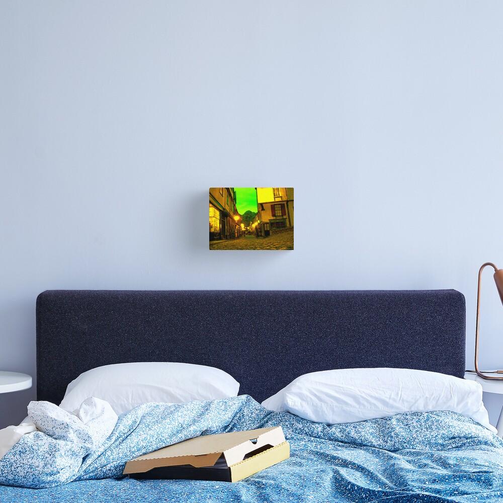 Neon Elm Hill Canvas Print