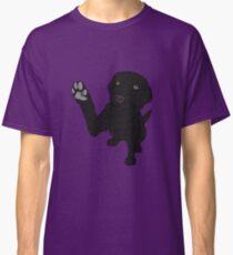 Camiseta clásica Dame Paw - - Black Lab