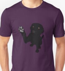 Give me Paw - - Black Lab  Unisex T-Shirt