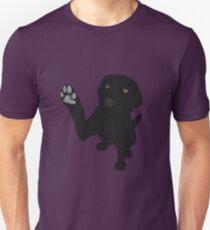 Camiseta ajustada Dame Paw - - Black Lab