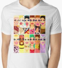 DRAG QUEEN ROYALTY Men's V-Neck T-Shirt