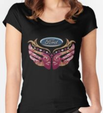 Ford Breast Cancer Women's Fitted Scoop T-Shirt