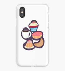 Coffee Shop - Grouped iPhone Case/Skin