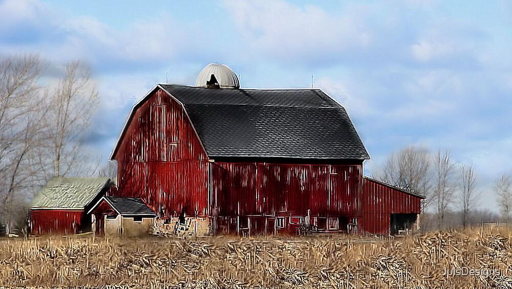 A Michigan Barn  by JulsDesigns