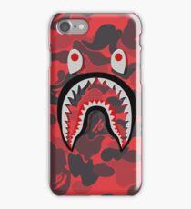 red pett bape iPhone Case/Skin