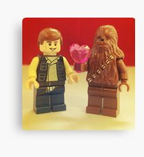 Han Loves Chewy Canvas Print