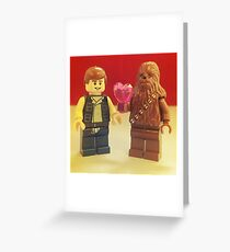 Han Loves Chewy Greeting Card