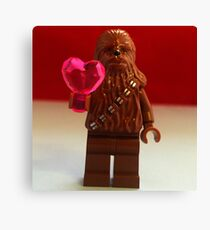Chewy Valentines Canvas Print