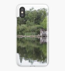 Old Boat House iPhone Case