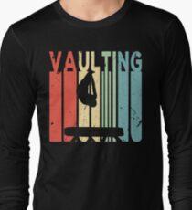 Vaulting Vintage Retro Long Sleeve T-Shirt