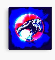 thundercats blue1 Canvas Print