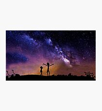 Rick And Morty (3 Colors) Photographic Print