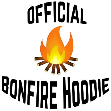 Official Bonfire Hoodie by NobleImages