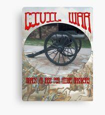 Pea Ridge Battlefield Canon Canvas Print