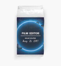 FILM EDITOR Duvet Cover