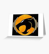 thundercats orange 1 Greeting Card