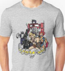 Evil Eighties Action Figures Slim Fit T-Shirt