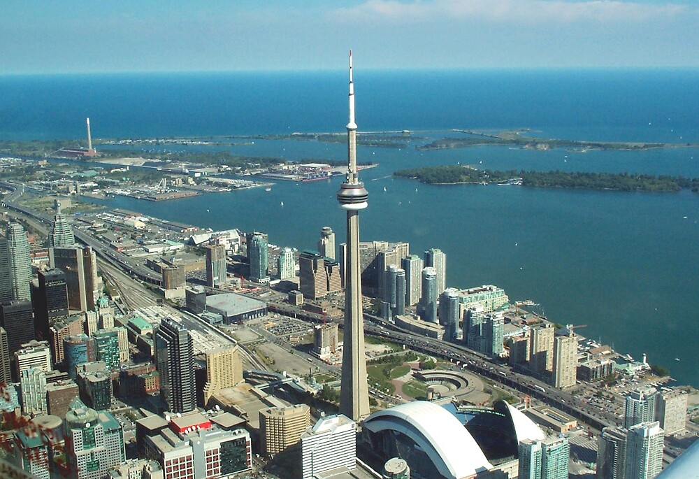 Toronto from the Air by Av8R