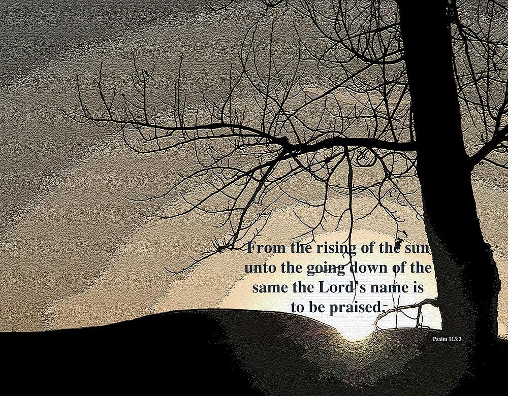 Psalm 113:3 by RedZenda