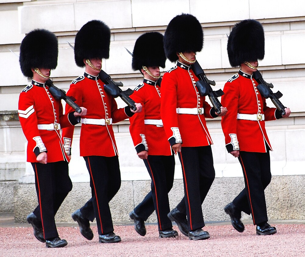 """beefeaters of buckingham palace "" by cool3water"