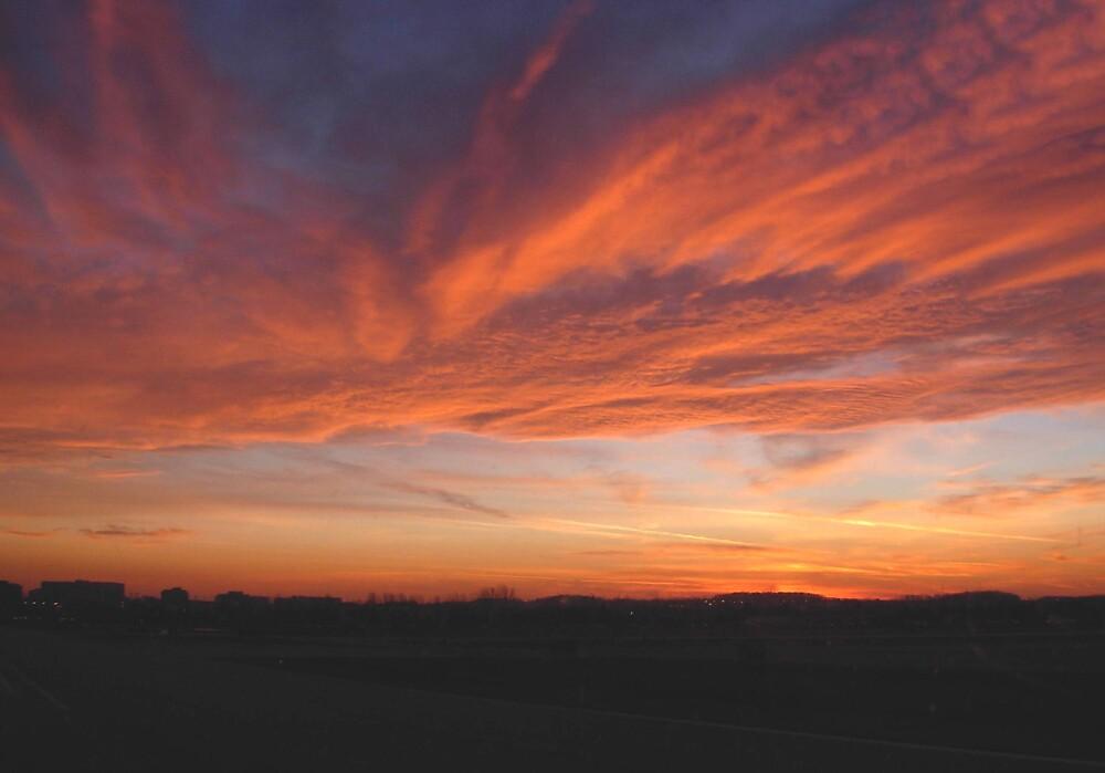 January sunset by Av8R
