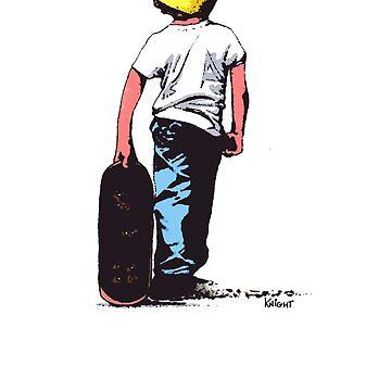 I skate alone ! by JarrodKnight