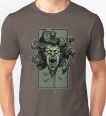 Severed Creepy Medusa Head T-Shirt