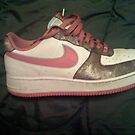 My Pink Air Forces by conceited