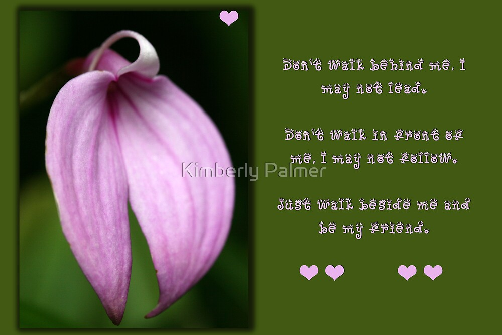 Friendship Flower by Kimberly Palmer