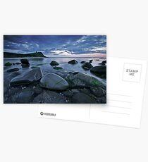 Shiny Rocks Postcards