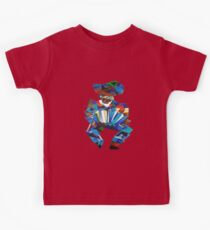 Accordion Player In Cubist Style Kids Clothes