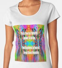 butterfly life quote Women's Premium T-Shirt
