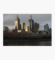 Postcard Metropolis  Photographic Print