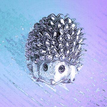 Plaintive baby hedgehog by trishie