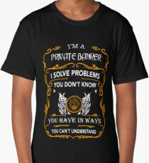PRIVATE BANKER Long T-Shirt