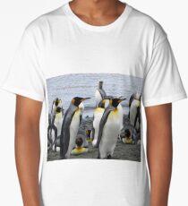 King penguins (Aptenodytes patagonicus) Long T-Shirt