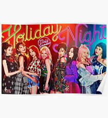 GIRLS GENERATION - HOLIDAY NIGHT Poster