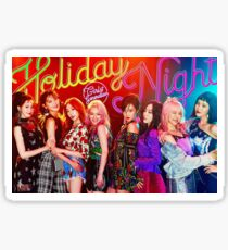GIRLS GENERATION - HOLIDAY NIGHT Sticker