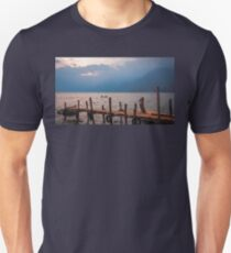 Kayaking on Lake Atitlan at Sunset T-Shirt