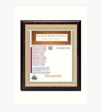 Watchlist of  Recipiency for Thomas Josiah Chappelle Art Print