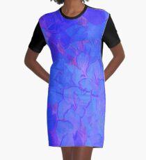 Go Blue Graphic T-Shirt Dress