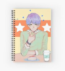 HamsterCoffee Spiral Notebook