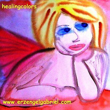 ...first angel...art by Jutta Gabriel... von healingcolors