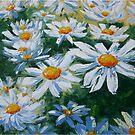 Daisies by Claudia Hansen
