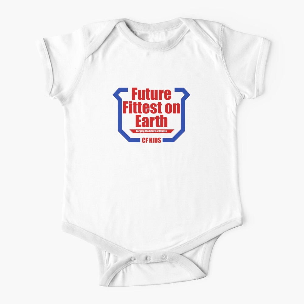 Future Fittest on Earth Baby One-Piece