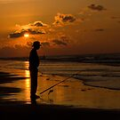 Early Morning Fisherman by BigRPhoto