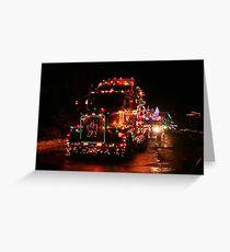 Langford Truck Parade Greeting Card