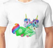 Two-Headed Unicorn Unisex T-Shirt