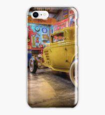 Hot Rod Garage 3 iPhone Case/Skin